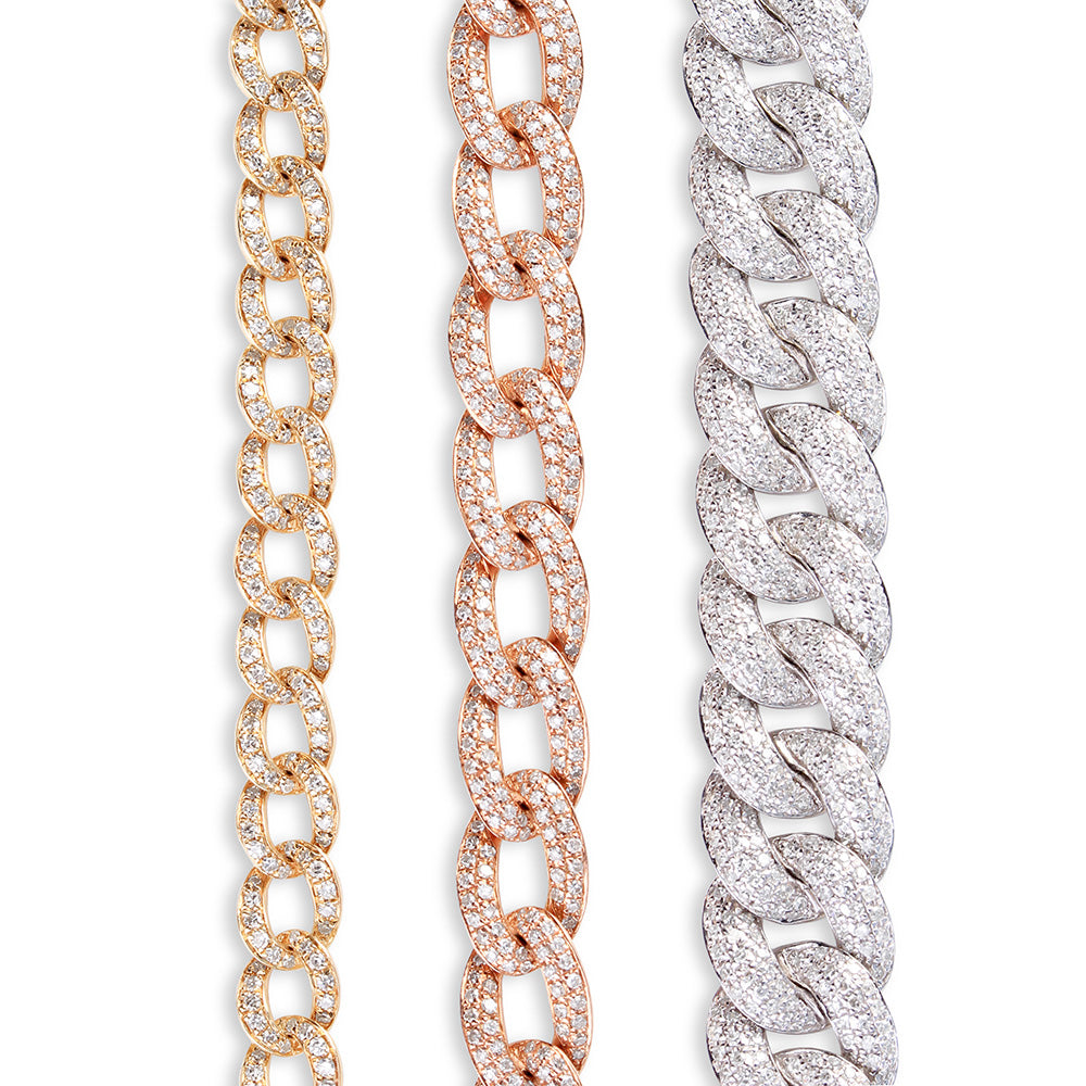 DIAMOND CHAINLINK BRACELET