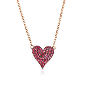 REVERSIBLE RUBY AND DIAMOND NECKLACE