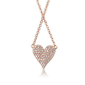 REVERSIBLE DIAMOND NECKLACE