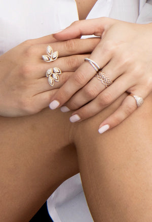 DIAMOND STACKING RINGS