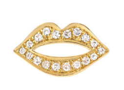 IN STOCK - DIAMOND LIP EARRINGS