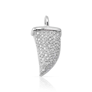 IN STOCK - SHARK TOOTH DIAMOND CHARM