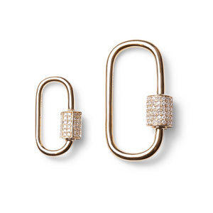 DIAMOND CARIBINER LOCKS, CLASPS