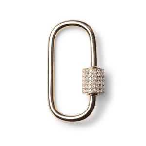 DIAMOND CARABINER DIAMONF LOCK