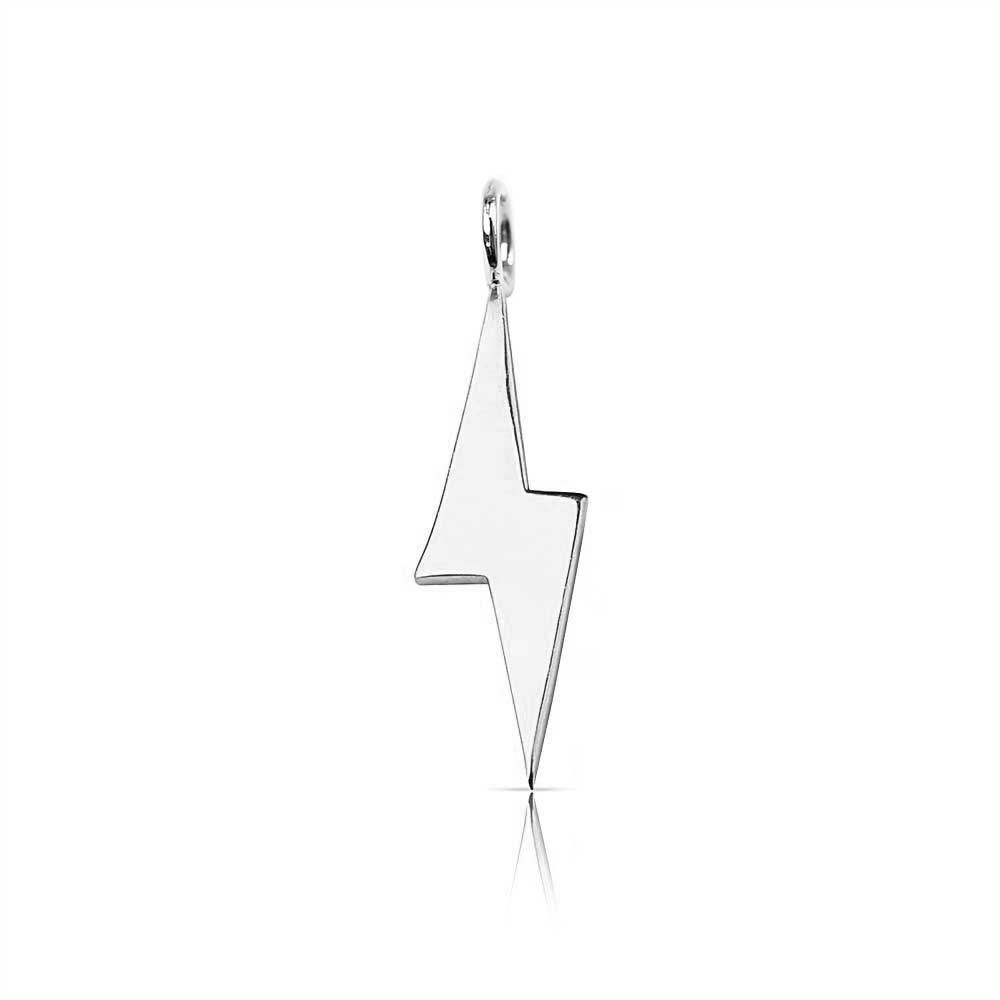 Gold Mini lightning Bolt Charm
