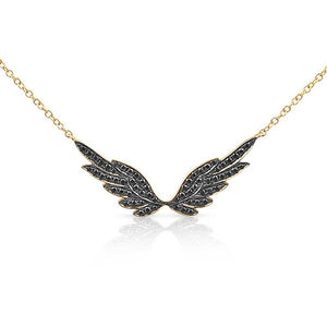 Black Diamond Angel Wings