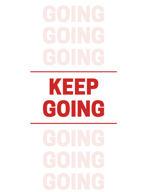 KEEP GOING Self Reflection Tees Premium Shirt