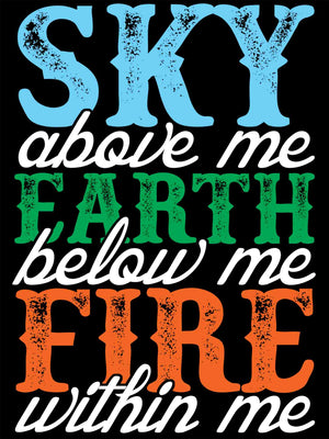 Sky - Earth - Fire
