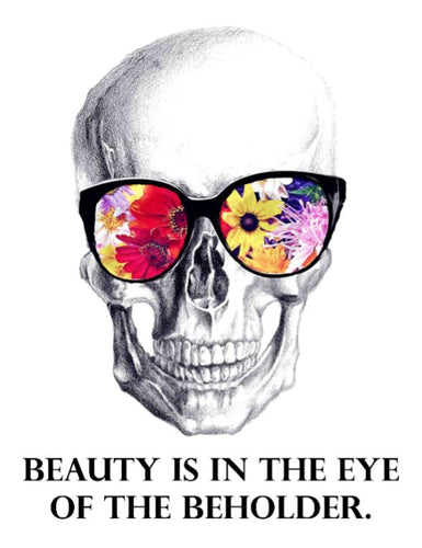 Beauty Is In The Eye Of The Beholder Self Reflection Tees