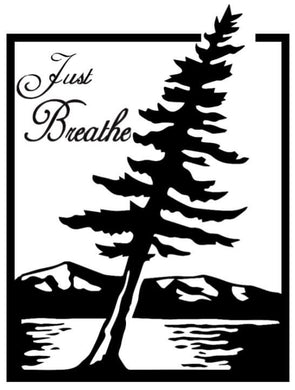 JUST BREATHE Self Reflection Tees