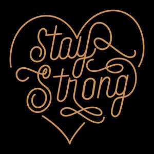 STAY STRONG self reflection tees