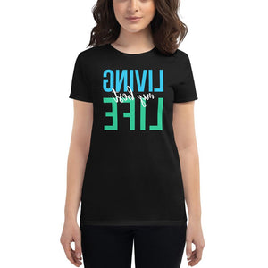 LIVING MY BEST LIFE Self Reflection Tees Womens Shirt