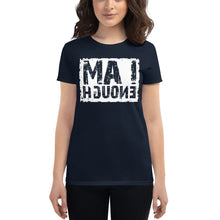 Load image into Gallery viewer, I AM ENOUGH Self Reflection Tees Womens Premium T-Shirt