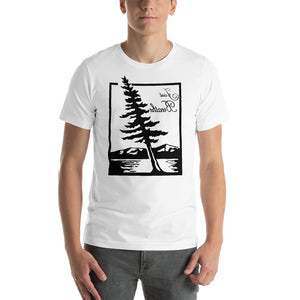 JUST BREATHE Self Reflection Tees Premium T-Shirt