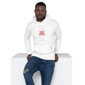 KEEP GOING Self Reflection Tees Premium Hoodie