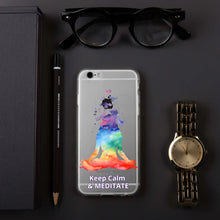 Load image into Gallery viewer, Meditate iPhone Case
