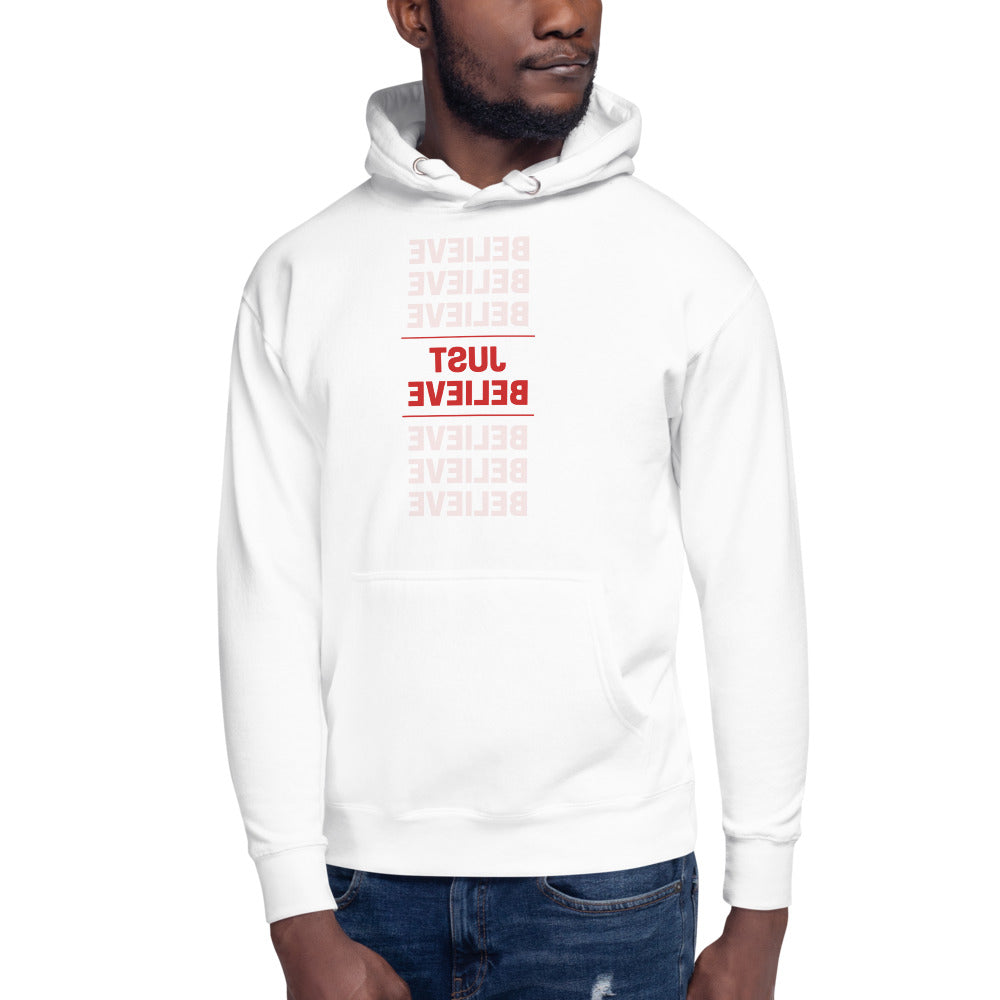 JUST BELIEVE Self Reflection Tees Premium Hoodie