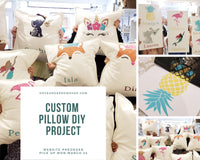 diy take home kits pillows bird houses signs