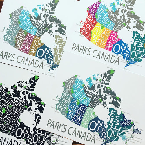 MAP12 Parks Canada Print