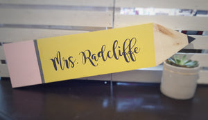 Teacher Gift Wood Sign
