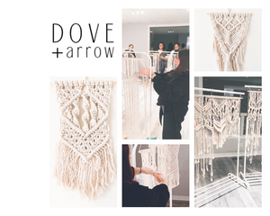 Macrame Wall Hanging Workshop - Oct 3 6:30pm