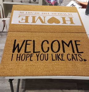 Oakville Oct 30th 6pm Decorate Your Own Front Door Mat