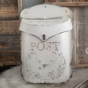 Farmhouse Post Mail Box