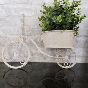 Bike Planter Rustic Farmhouse Finish