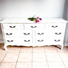 French Provincial Low Dresser / Buffet / TV Unit  in Casement