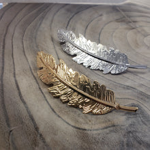 Feather Hair Clip Barrette
