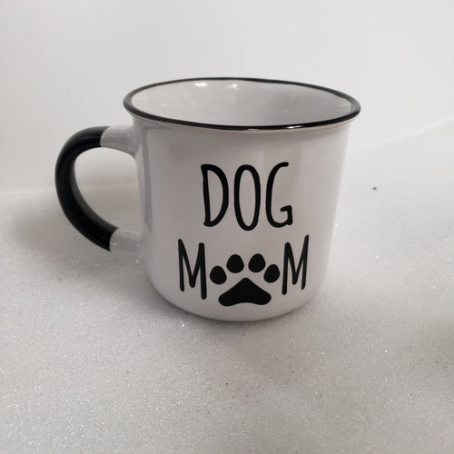 Dog Mom Ceramic Mug
