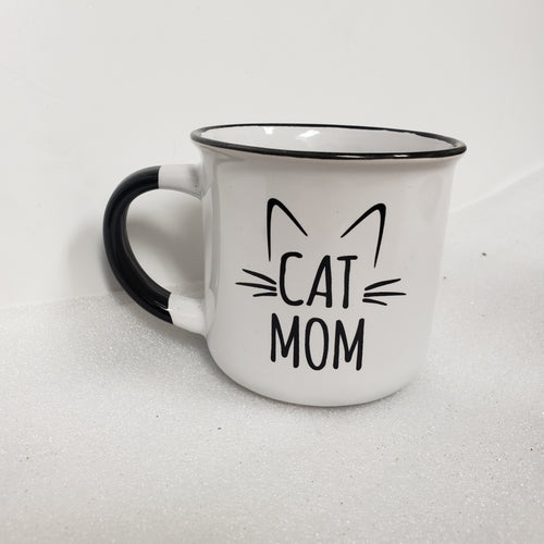 Cat Mom Ceramic Mug