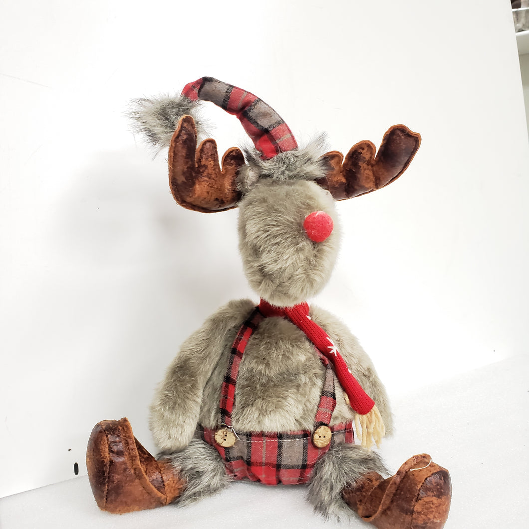 Extendable neck Christmas Reindeer