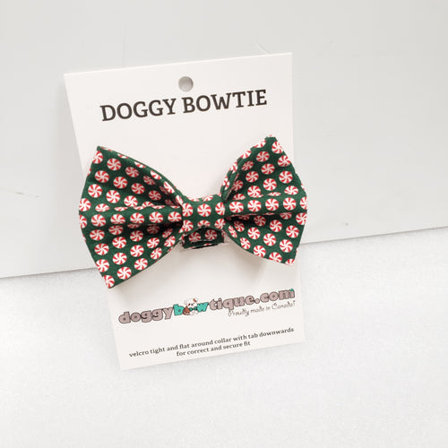 Doggy Bowtie - Christmas Peppermint Candy HIT 2