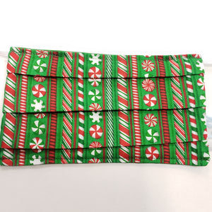 Christmas Mints Pattern Face Mask NUF49