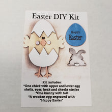 DIY KIT - 3D Easter Egg, Chick and Bunny