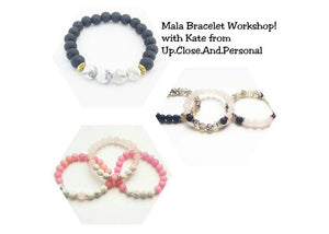 Oakville March 12 6:30pm Mala Beaded Bracelets Workshop Or Hand Stamping