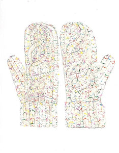 Sprinkle Mitts Card CHA2 Note Card