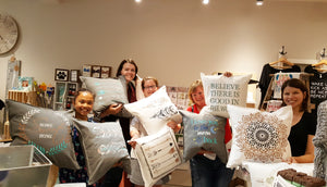 Decorative Pillow Workshop