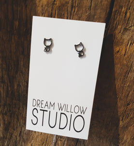 Cat Earrings - Fund Raiser for Oakville & Milton Human Society