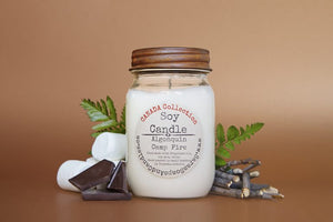Canada Soy Candle – Algonquin Campfire