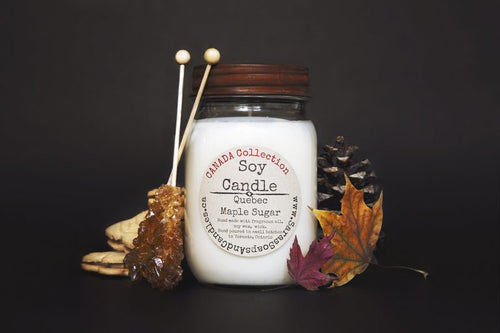 Quebec Maple Sugar - Canada Soy Candle