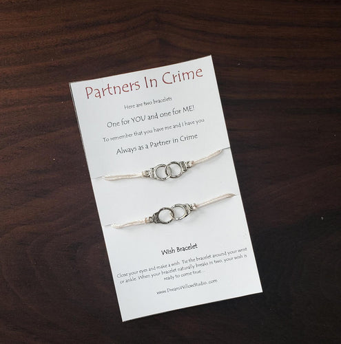 Partners in Crime - Double Wish Bracelet
