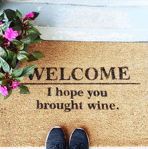Decorate Your Own Front Door Mat - March 27 6:30pm