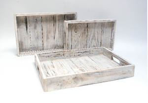 Recycled Acacia Wood Tray