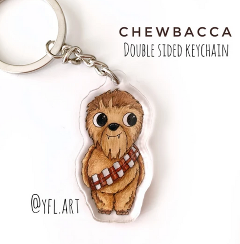 Chewie Key Chain