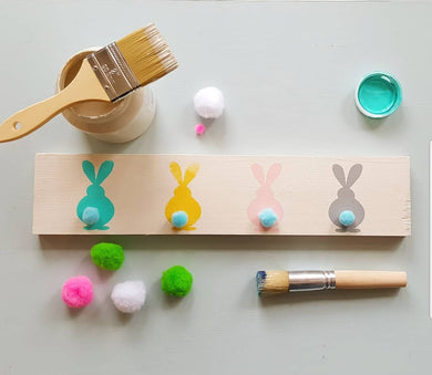 DIY KIT -- Easter Bunny Sign