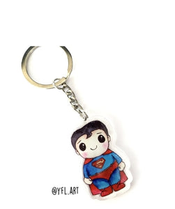 YFL74 Superman KeyChain