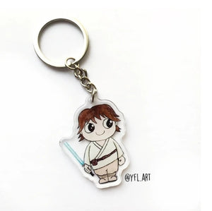 YFL79 Luke Skywalker KeyChain