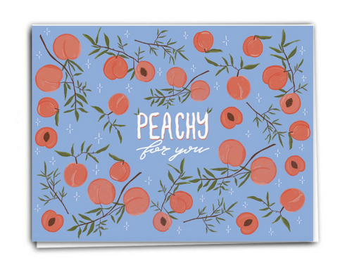 Peachy for you - Love and Valentine's Day  Card PRO32